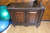 Ornate Lamp cabinet or table w/Fancy Design