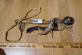Native American Rattle, Necklace, Talon lot