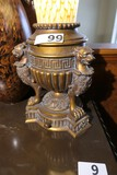 Antique Style Desk Lamp with glass shade