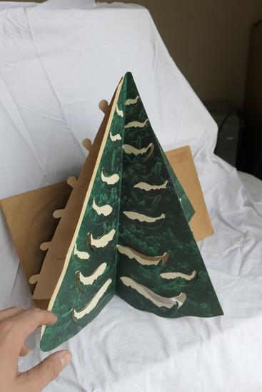 Rare Xmas Tree Lampshades Company Paper Lampshade