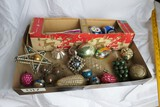 Group of better antique Christmas ornaments