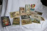 Group Lot Easter Lithographed Postcards