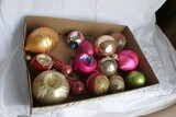 Group lot Antique Christmas Ornaments