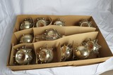 Western Germany Christmas Ornament Set c. 1950