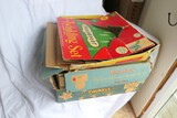 Group lot of three better vintage Christmas light boxes