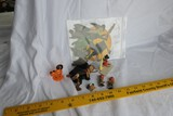 Group Lot Antique Small Halloween Items