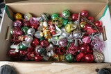 Very Large Lot of 50s Plastic Christmas Ornaments