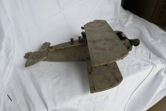 Antique Electric Motor Powered Toy Plane