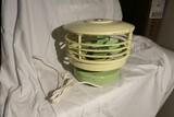 Retro Mid Century Table Fan KISCO Airspray Circulair