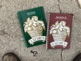 Pair of vintage Lazarus Employees, Staff Cookbooks