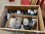 Surround sound speakers, VCR, etc
