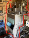 Large ice maker machine, cones, industrial coffee makers