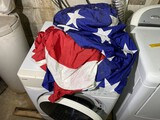 Large Sized Nylon American Flag - 13 3/4 x 17'