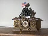 Marine Corp Commemorative Mantle Clock