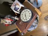 Skeleton, Shoe Shine Items, gag gift, clock