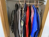 Group lot of vintage clothing including Military