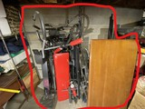 Exercise equipment, file cabinet, table top