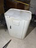 Vintage Westinghouse Metal Bread Keeper Cabinet