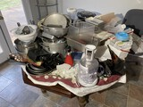 Large lot of assorted cookware, catering items