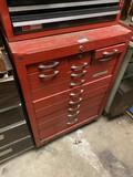 Vintage Waterloo metal tool box