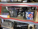 Shelf lot assorted garage items