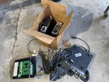 Group lot vintage CB radios and related