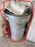 Large sized kitchen kettles/pots plus contents