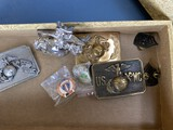 Group lot Marine Corps Belt Buckles and more