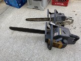 2 better gas powered chainsaws including McCulloch and Craftsman
