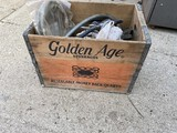 Golden Age Beverages Crate and contents