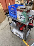 Metal industrial or Kitchen Rolling Cart