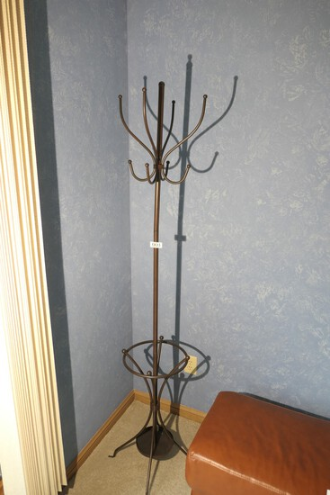 Metal Coat and Umbrella Rack