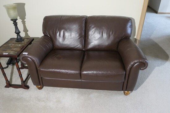 Nice Leather Italsofa Sofa or Loveseat