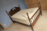 Queen sized bed, mattresses, frame