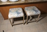 Pair of counter or bar stools