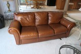 Very nice large Italian Leather Couch