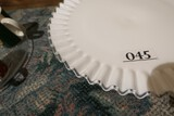 Fenton Silvercrest Glass Cake Stand PLUS