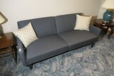 Mid Century Modern Couch - Converts to a bed