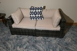 Indoor or outdoor couch or sofa