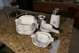 Group lot of assorted Corning Ware items