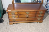 Vintage Lane Cedar Chest w/Faux drawers
