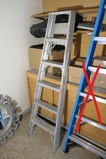 Metal 6' stepladder