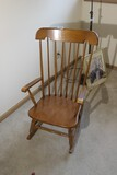 Vintage Maple Rocking Chair