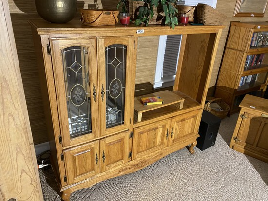 Vintage Entertainment Stand