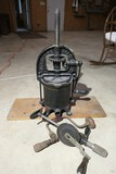 Antique Enterprise Lard or Fruit Press Plus Antique Drills