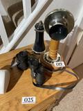 Vintage Style Stick Phone + Binoculars