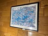 Vintage Buckeye Lake Advertising Poster