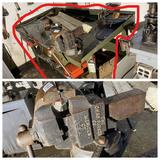 Antique Chas Parker Co. Adjustable Shop Vice PLUS