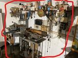 Vintage planer, band saw, grinder, router table etc