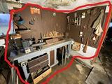 Workshop corner lot - lathe, wood chisels, tap/die set etc etc